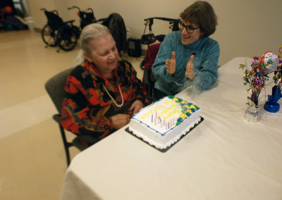 Every birthday is a cause for celebration at One Kenton Place!