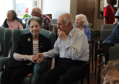 Our residents socializing during our programs.
